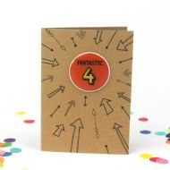 Bettie Confetti 'Fantastic 4' Card
